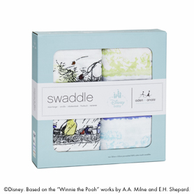 winnie the pooh 2-pack classic swaddles
