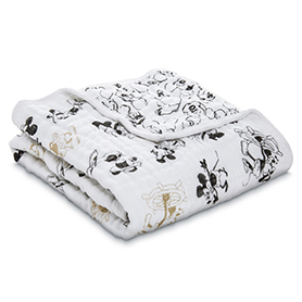 mickey's 90th - montage classic stroller blanket