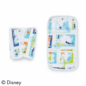 the jungle book 2-pack disney baby drool pads