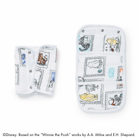 winnie the pooh 2-pack disney baby drool pads