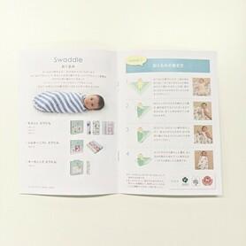 leaflet marketing material