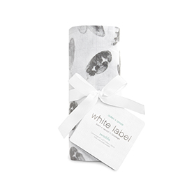foragers - leaves silky soft swaddle