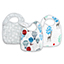 dream ride 3-pack classic snap bibs