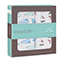 whales + boats 2-pack classic swaddles
